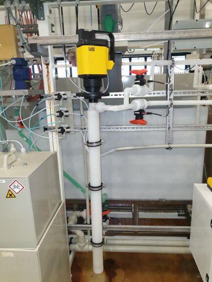 PVDF Barrel pump unit