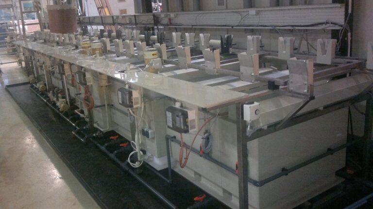 Small sized VPL NTO-ENIG line